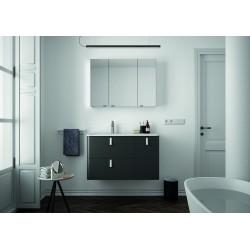 Mueble de baño y lavabo de 90 cm