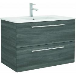Mueble de baño Alsacia y lavabo Chrome de 80 cm