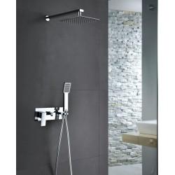 Griferia de ducha empotrada serie noruega
