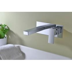 Torneira para lavatório de parede série Swiss