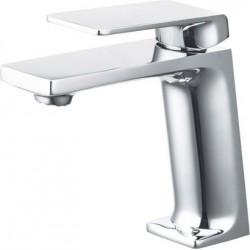 Grifo de lavabo monomando cromado serie fiyi