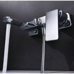 Grifo de bañera / ducha monomando cromado serie fiyi