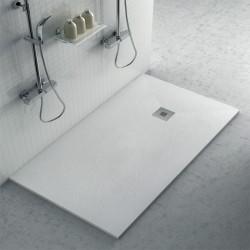Plato de ducha de resina textura pizarra