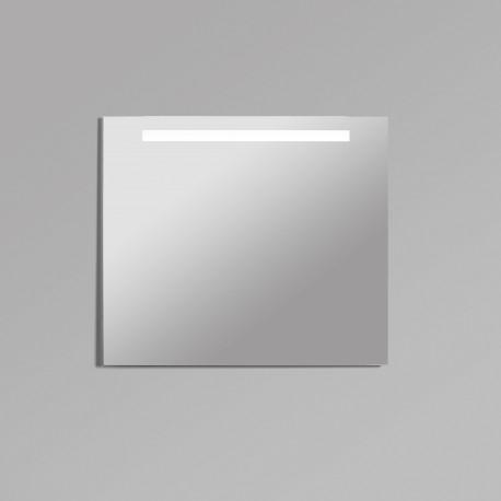 Espejo baño luz led frontal cuadrado Areca B