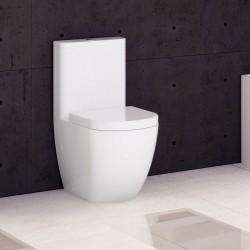 Inodoro Blanco Verona Con Salida Dual