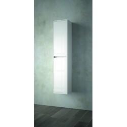 Armário suspenso branco com duas portas