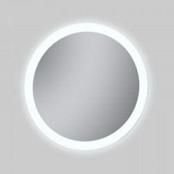 Espejo redondo con luz LED